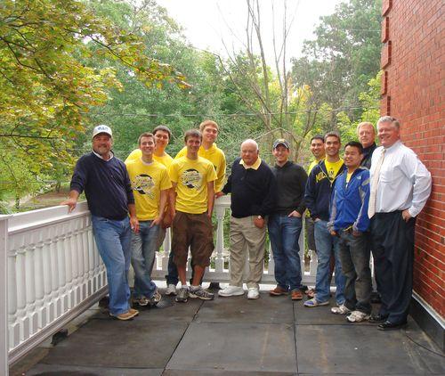 North Porch dedication actives alums